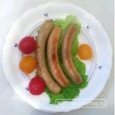 Домашние колбаски из щуки