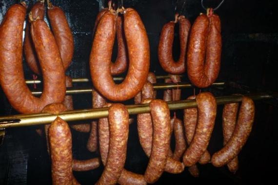 горячее копчение колбас дома