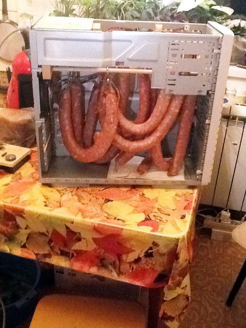 Коптильня для колбасы