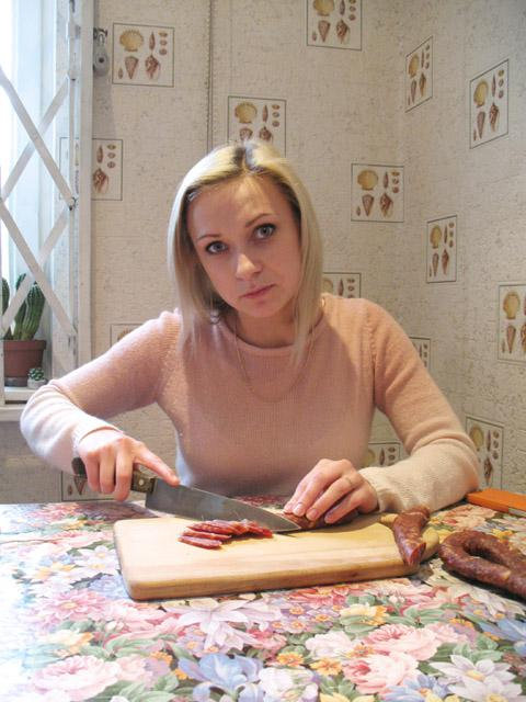 Дегустация домашней колбасы